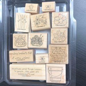 """Stampin' Up! """"Basket Full of Fun"""" Stamp Set"""